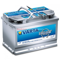 VARTA START-STOP PLUS AGM 70Ah/760A L- 278x175x190 570901076B512
